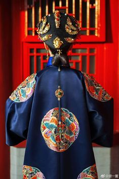 Traditional Fashion, Traditional Dresses, Dynasty Clothing, Chinese Element, Chinese Embroidery, Oriental Fashion, Ancient China, Qing Dynasty, Chinese Culture