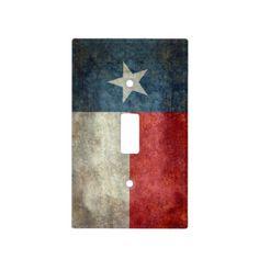 Texas state flag vintage retro light switch cover  #Texas #state #flag #retro, USA, #texasflag #texasstateflag #american #america #vintage #lonestarflag, #texan #retrostyle #Texanflag
