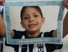 #DiaDelNinoRayado  David Alejandro Gzz. Gzz. #Rayados
