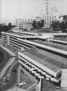 Garage Louis-Colin, Université de Montreal, Quebec, Canada, 1971 (Ouellet, Reeves, Alain)