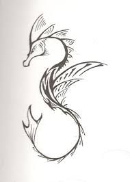 Image result for celtic white seahorse tattoo