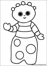 In the night garden coloring pages on Coloring-Book.info, the tombliboos