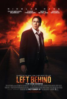 Left Behind (2014) Poster--A new movie version of the popular book series by Jerry Jenkins and Tim LaHaye.  Hitting theaters Oct. 3, 2014.  Found the missing Chad Michael Murray :-)