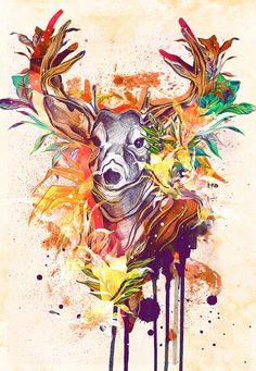 Animalia by Daryl Feril, via Behance