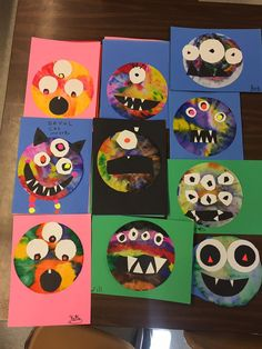 Harvest Festival Crafts, Square One Art, Fairy Tales Unit, Funny Monsters, October Fall, Fall Projects, First Art, Boy Art, Eyfs