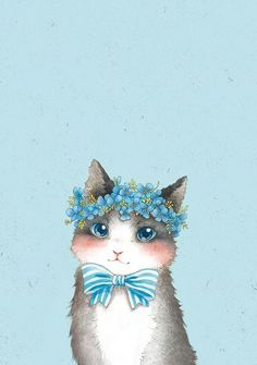17 Wallpapers for kitty lovers Cat Phone Wallpaper, Fall Wallpaper, Kawaii Wallpaper, Animal Wallpaper, Watercolor Pencil Art, Kawaii Drawings, Cat Drawing, Cute Cartoon Wallpapers, Pictures To Draw