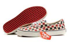 1316a19424 Womens Vans Classics Deep Blue Red Checkerboard Slip-On Shoes  Vans Vans  Old School