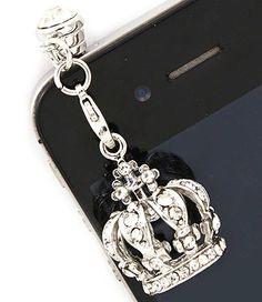 Crown Cell Phone / iPad Charm - $4.95 by www.SassyToe.com