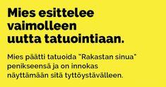 Vitsit: Miehen kehityskaari parisuhteessa - Kohokohta.com