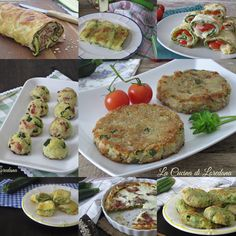 Ricette con le zucchine - Tantissime ricette semplici e sfiziose, tutte da provare Polenta, Salmon Burgers, Finger Foods, Pesto, Baked Potato, Squash, Veggies, Potatoes, Baking