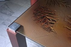 Designer Tables - ST1C Glass Table, Glass Design, Glass Door, Fused Glass, How To Dry Basil, Herbs, Tables, Mesas, Glass Table Top