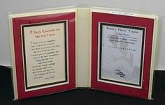 Duo Message and Photo Frame by Blue Mountain Arts 'A Daily Reminder for the One I Love' (Item #PF202)