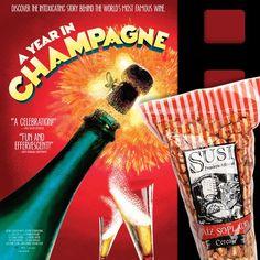 """Nuestro recomendado de hoy en #ViernesDePelícula con Susi: """"Un año en Champagne"""" un documental imperdible para los amantes del Champagne, de su historia y su cultura. ¡Disfrútalo!"""
