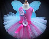 Prettiest Peacock Fairy Tutu Set by PirouetteBoutique on Etsy