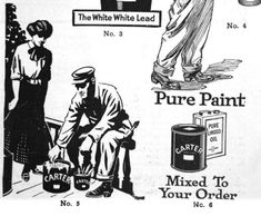 These images were to use in local advertisements for Carter White Lead paint.