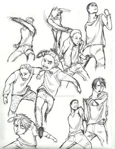 Fighting poses practice by dancingjokeRR Fighting poses practice by dancingjokeRR