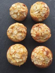 Muffins poires, amandes, comme un financier Weight Watchers (4 Smartpoints)