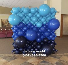 Balloon Wall, Balloons, Under The Stars, Sweet 16, Hanukkah, Party Planning, How To Plan, Decor, Globes