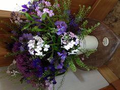 Beautiful garden flowers by Blue Poppy Florist!