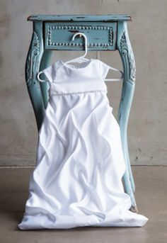 This GORGEOUS elegant dress is sure to have people talking. This cap sleeve dress is made out of white Satin. Your baby is sure to look beautiful on her special day. Baby Blessing Dress, Baby Dress, Baptism Dress, Christening Gowns, Rhinestone Dress, Baby Sewing, Clothing Company, Cute Kids, Little Girls