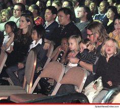 Angelina Jolie & Brad Pitt -- Vegas, Babies, Vegas!!!