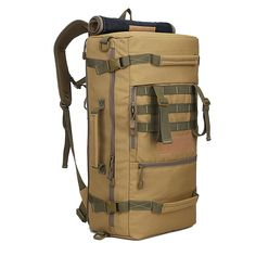 LOCAL LION 50L Backpack Hiking, Camping, Daypack, Shoulder Bag