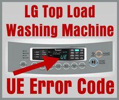 lg washing machine oe error fix