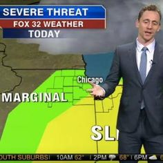 Tom Hiddleston gave the weather report on a local Chicago station http://shot.ht/1TnRxn4 @EW