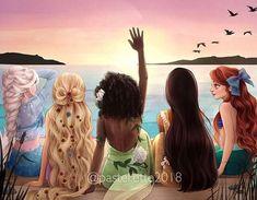 - Disney Princess Hawaiian Vacation Disney Princess Hawaiian Vacation Informations Abo - Disney Princess Fashion, Disney Princess Pictures, Disney Princess Drawings, Disney Princess Art, Disney Fan Art, Disney Pictures, Princess Rapunzel, Disney Rapunzel, Disney Cartoons