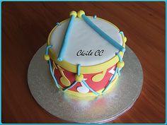 drum cake gâteau tambour