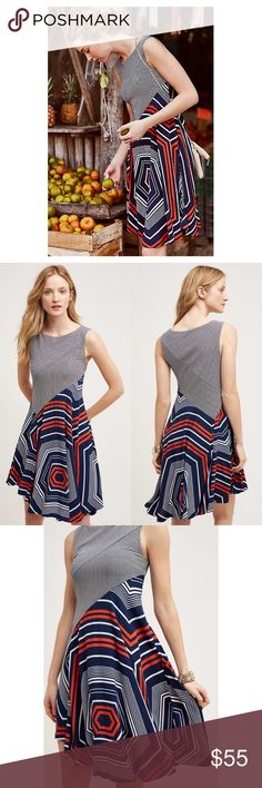 2f8f215f4aa Anthro Maeve Cameron Swing Dress Anthropologie Maeve Cameron Swing Dress in  size small. Excellent condition
