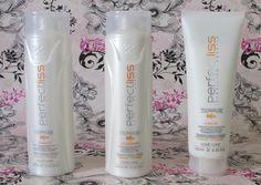 Shampoo, condicionador e leave-in Perfectliss Antifrizz