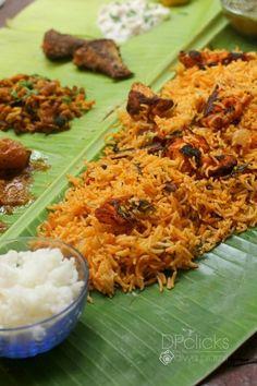 Chicken Tikka Biryani - Smoky flavored spicy chicken chunks in sizzling biryani. a delectable twist to the famous Indian biryani