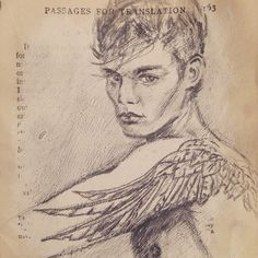 Sketch of winged tattoos (detail) Wings, Sketch, Detail, Tattoos, Boys, How To Make, Art, Sketch Drawing, Baby Boys
