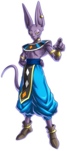 View an image titled 'Beerus Art' in our Dragon Ball FighterZ art gallery featuring official character designs, concept art, and promo pictures. Dragon Ball Gt, Super Manga, Ball Drawing, Dbz Characters, Anime Merchandise, Son Goku, Fan Art, Cool Tattoos, Character Art
