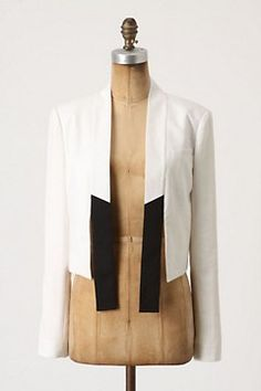Anthropologie Leighton Tuxedo Jacket--Gorgeous!