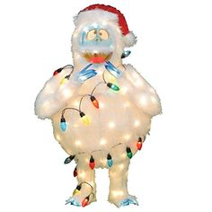 Product Works PreLit Faux Fur Bumble with Light Strand Christmas Yard Art Decoration and Clear Lights 32 >>> Check out this great product.