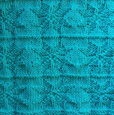 Cast on 61 stitches and knit 4 rows, and the pattern. Remember to start and end all rows with 2 k. Knit the pattern 4 times and then kn. Easy Knitting Patterns, Knitting Stitches, Stitch Patterns, Knit Dishcloth, Bind Off, Knit Or Crochet, Washing Clothes, Blanket, Points