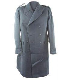 New Swedish Blue Wool Coat
