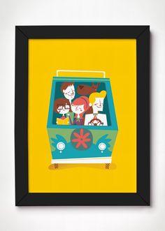 Poster Scooby-Doo - Meu Adorável Iglu