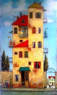 来自插画师 David Martiashvili 绘画作品一组