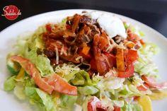Burrito Salat - low carb & glutenfrei