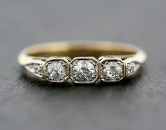 Art Deco Engagement Ring Antique Art Deco by AlistirWoodTait                                                                                                                                                     More