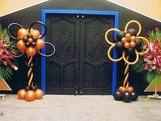 Balloon Columns -