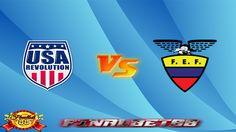 Cuplikan Gol Amerika Serikat vs Ekuador 26 Mei 2016