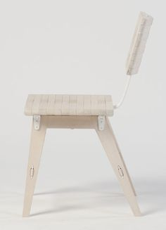 Here's a very different take on the folding chair: The OSSA, created by Vancouver-based design duo Johannessen & Clarke. The pair (Solveig and Krystin, respectively) met while they were third-year ID students at Emily Carr University of Art + Design, and drew inspiration for the chair from skeletal structures of...