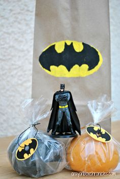 DIY Batman Play Dough