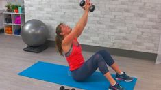 Grab some dumbbells and join us for this upper body HIIT workout that will target your shoulders, biceps, triceps and more in just 10 minutes! Upper Body Hiit Workouts, Hiit Workout At Home, Pool Workout, Killer Workouts, 10 Minute Workout, Workout Videos, Exercise Videos, Hiit Interval, Bicep And Tricep Workout