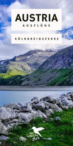 Kölnbreinsperre & Malta Hochalmstraße: mit ihren 200 Metern Höhe ist die Kölnbreinsperre in den Hohen Tauern die höchste Staumauer Österreichs und damit ein perfektes Ausflugsziel in Kärnten. Doch das ist nicht der einzige Grund, warum sich ein Ausflug dorthin lohnt. Mehr Informationen findet ihr auf unserem Blog. #kölnbreinsperre #austria #kärnten # ausflügeinösterreich #ausflügeinkärnten Malta, Mountains, Outdoor, Nature, Travel, Blog, Europe Travel Tips, Round Trip, Road Trip Destinations