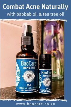 BaoCare CLEAR is a gentle, yet effective remedy for skin flare-ups of all kinds including teenage problem skin and adult acne. It will calm and soothe your upset skin, gently working to reduce redness, swelling, bumps and spots – leaving you with clear, healthy skin! #baocareskincare #acnetreatment #baobaboil #naturalcare Natural Acne Treatment, Natural Skin Care, Tea Tree For Acne, Baobab Oil, Evening Primrose, Natural Solutions, Calendula, Tea Tree Oil, Skin Problems